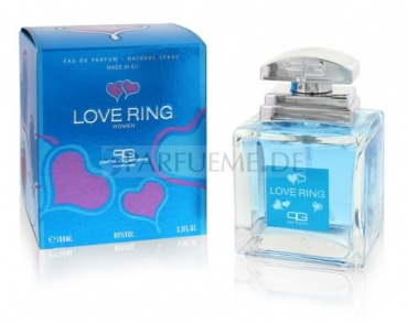 50 ml  LOVE RING EdP Damen Parfum Paris Generales
