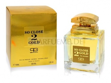 So Close 2 Gold 100 ml EDP Damen Parfum Paris Generales