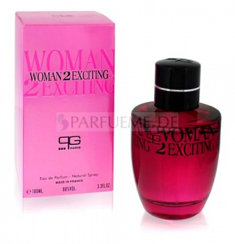 Woman 2 Exciting 100 ml EDP Damen Parfum Paris Generales