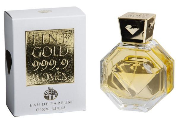 PARFUEME.DE Fine Gold 999.9 Damen Parfum 100 ml Real Time